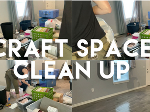 Craft Space Clean Up