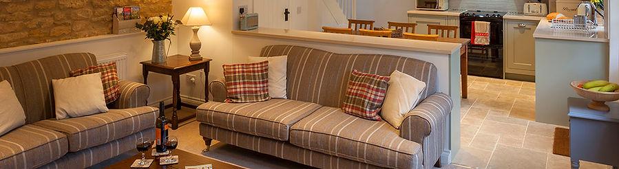 Hook Cottage sitting room