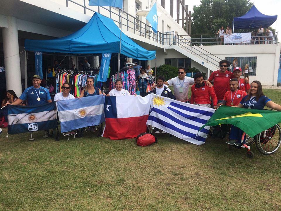 paracanotaje Sudamericano 2018