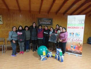 Exitosa actividad se llevó a cabo en el taller de actividad física del sector El Culben, en Quillón