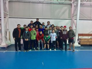 Coelemu y Quillón generaronun hermanableencuentro de Tenis de Mesa