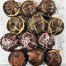 12-PIECE CHOCOLATE LOVERS