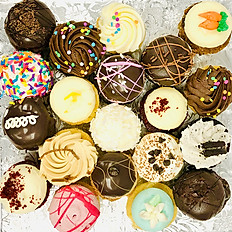 20-PIECE MINI CUPCAKE SAMPLER