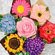 FULL FLOWER CUPCAKES