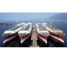4 LNG Ships