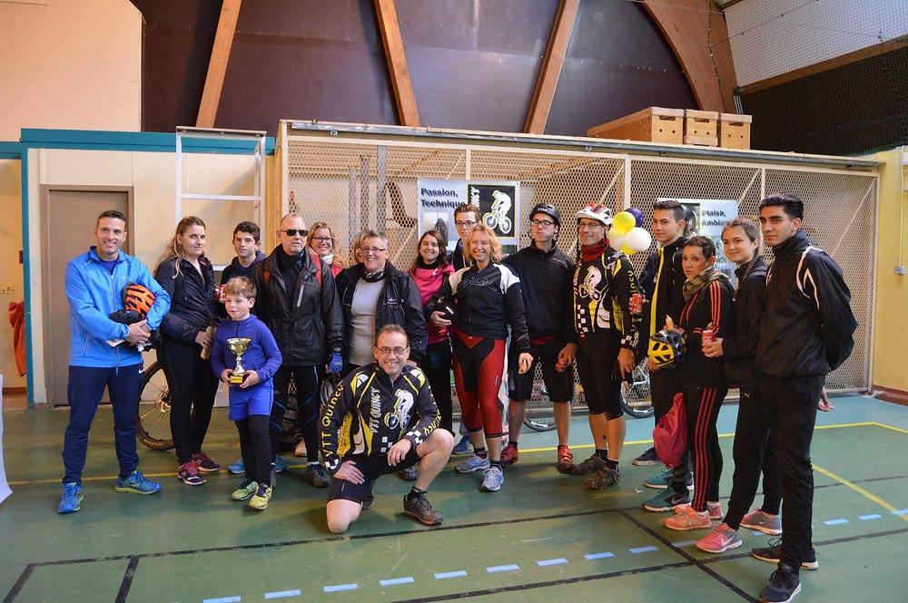 Le VTT Qunicy a invité le Karaté Etiolles tIgrey pour une petite course d'orientation en VTT en foret Super moment !!