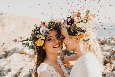 mariage champêtre à marseille roxanenicolas