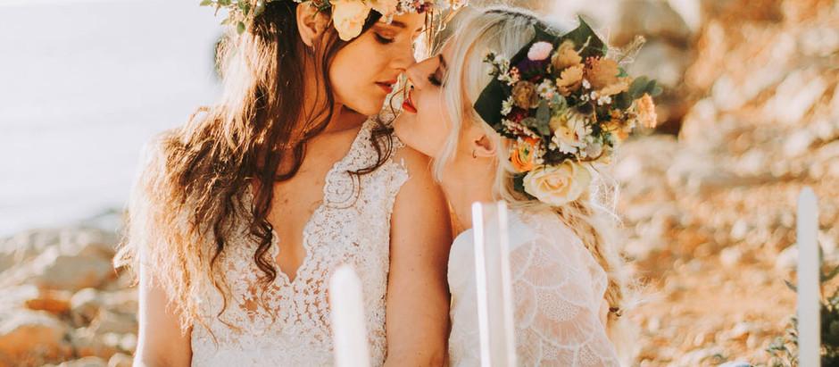 Mariage rock en bord de mer à Marseille