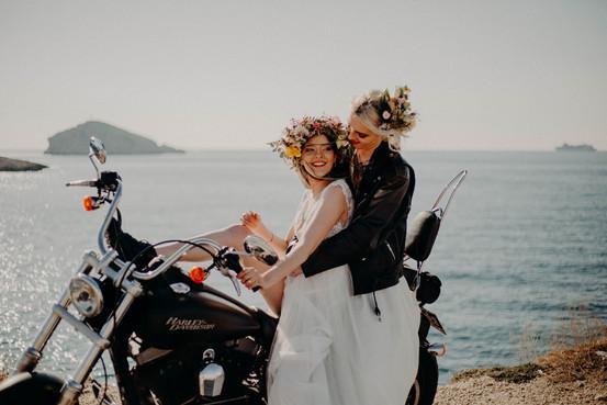 photographe mariage rock en bord de mer a marseille