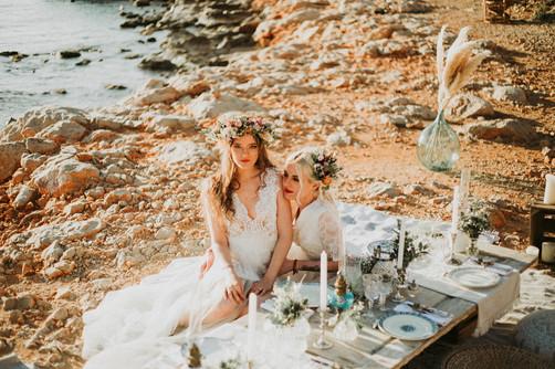 mariage bohème et intimiste a marseille roxane nicolas