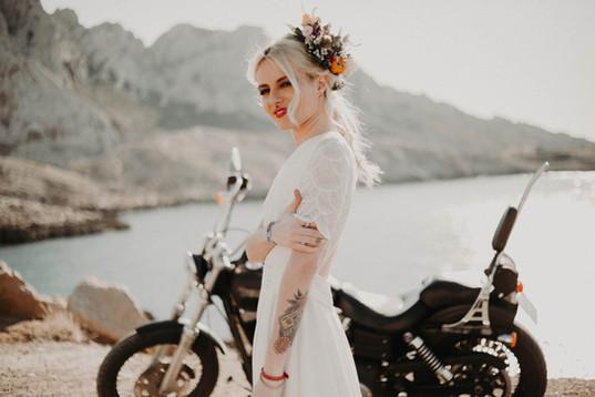 photographe mariage rock a marseille roxane nicolas