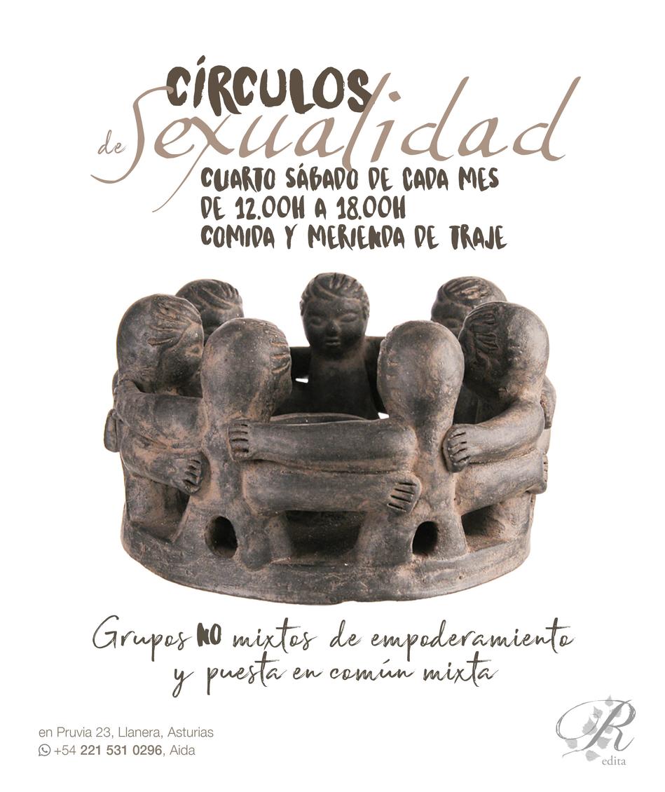 Cartel digital Círculos de Sexualidad