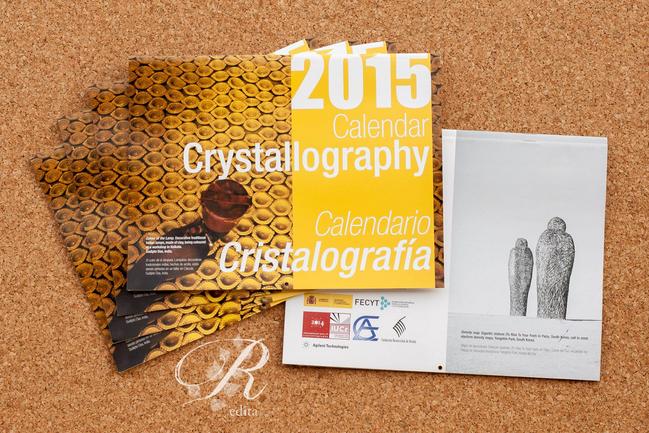 Calendarios Cristalografía 2015