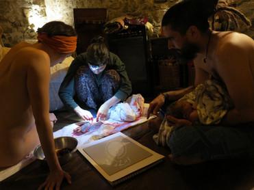 Dar a Luz en Casa Nace Sahel conociendo
