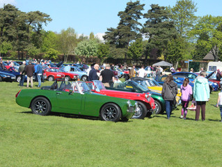 The 2019 All MG and Classic Car Show at the Riverside Park