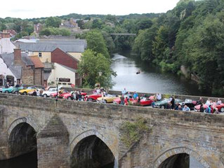 The Durham Bank Holiday Car Show