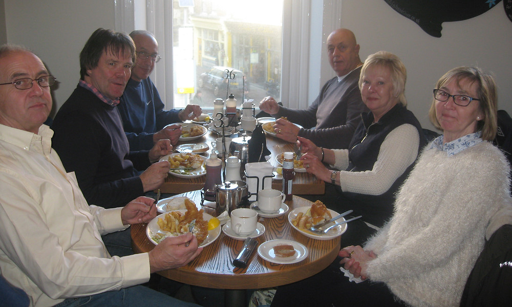 Club Members from South Yorkshire MGOC joined us for Lunch
