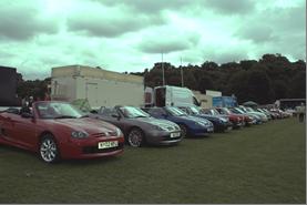 MG Northumbria's Corbridge Car Show
