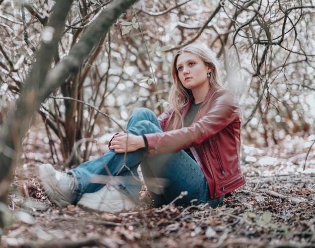 Rosie in the woods.JPG