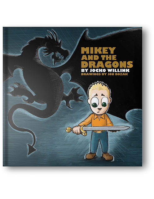 Jocko Willink Jon Bozak Mikey and the Dragons Children's Book Navy SEAL Kids Book
