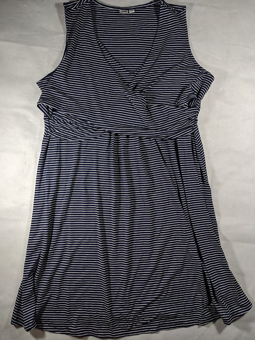 Gap,Sleeveless Crossover Dress,XL