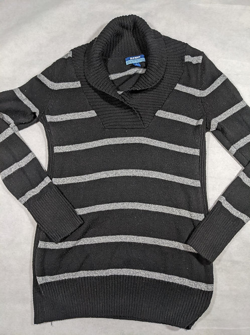 Old Navy, Striped Cowl Neck, M
