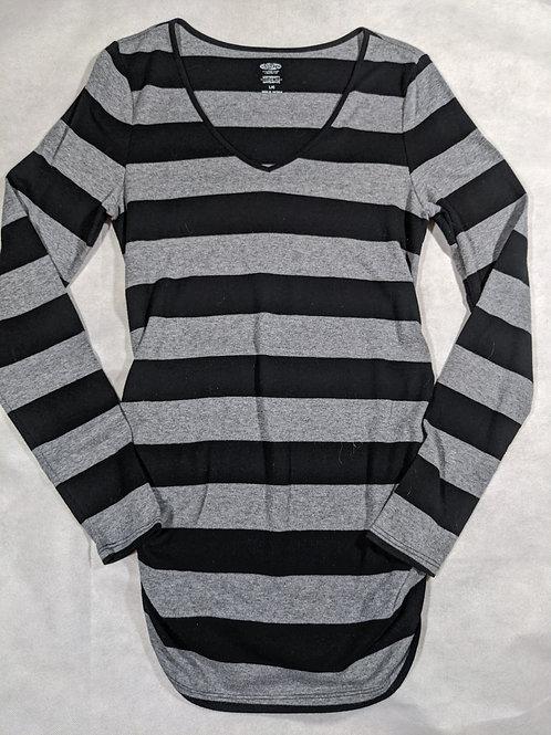 Old Navy, Striped V-neck Long Sleeve, L