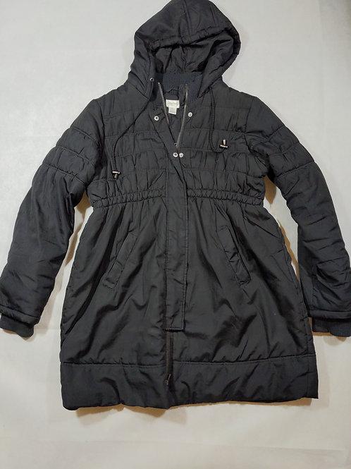 Motherhood, Quilted Jacket w/ hood, Black, L
