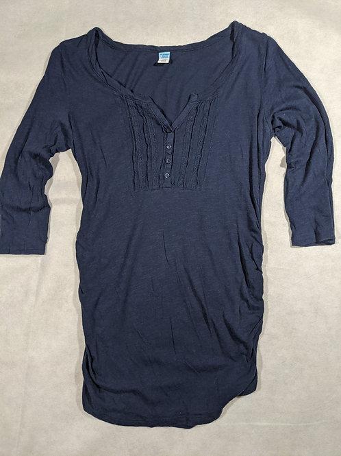 Old Navy, V-Neck Button 3/4 Sleeve, S