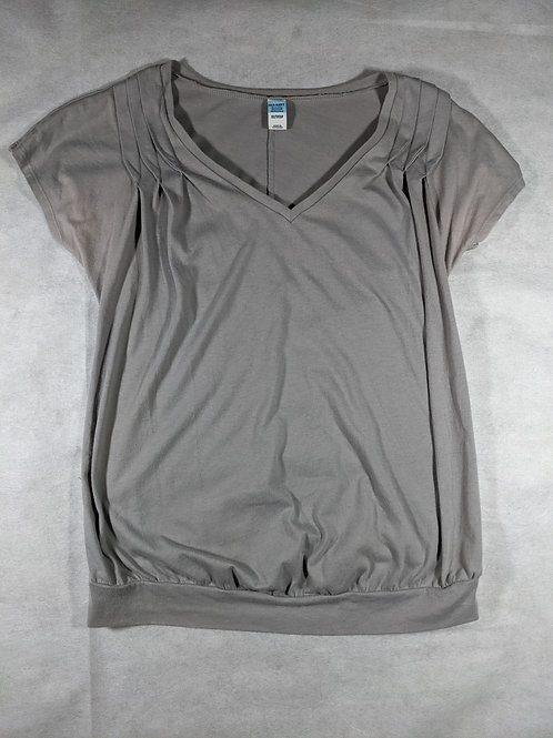 Old Navy, Solid Banded V-neck with pleats, XS