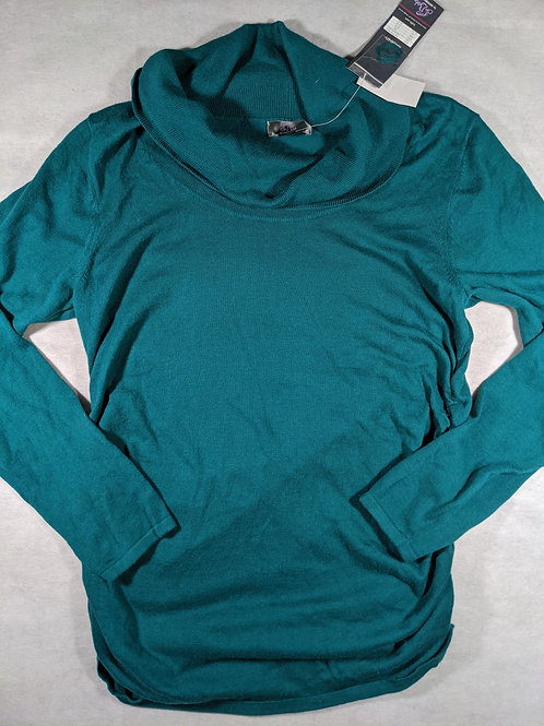 Oh Baby by Motherhood,Cowl Neck Long Sleeve NWT,L