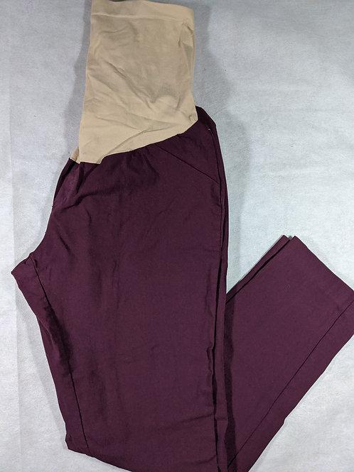 Motherhood, Full Belly Skinny Ankle Dress Pant, XL