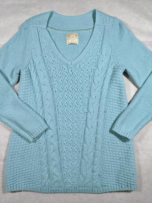 Old Navy, V-NeckCable Knit, L