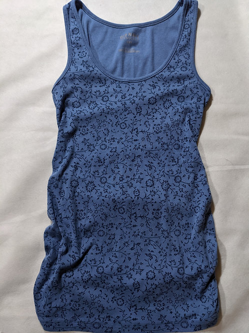Old Navy Ribbed Tank Floral Small