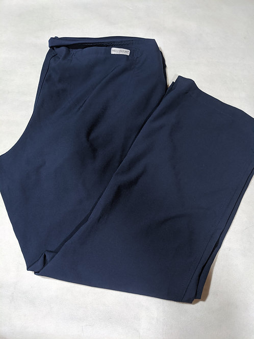 Med Couture Navy Scrubs Size L