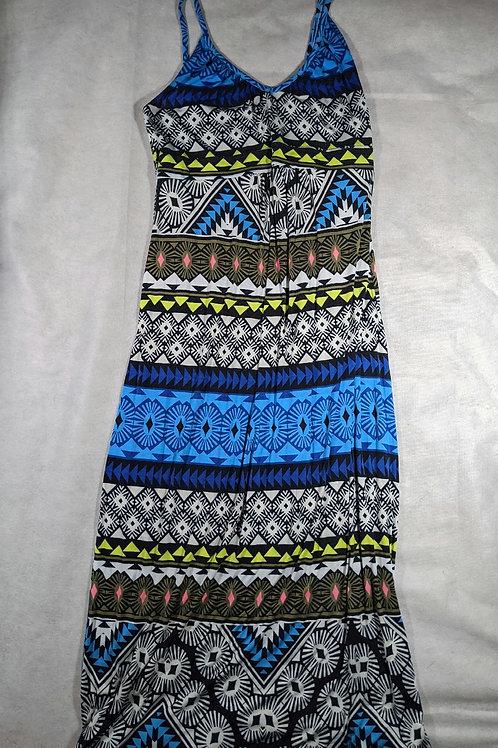 Old Navy, Spaghetti strap patterned maxi dress, M