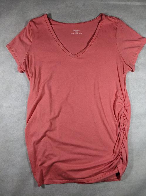 Motherhood, V-neck Short Sleeve, XL