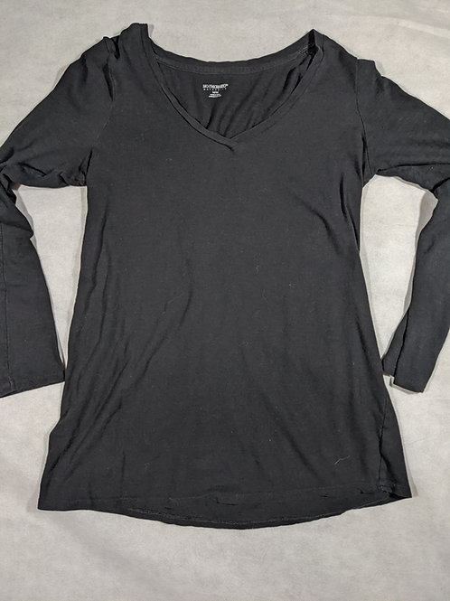 Motherhood, V-Neck Long Sleeve, M