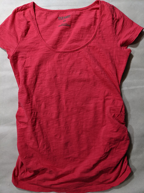 Old Navy Scoop T-shirt Small Pink
