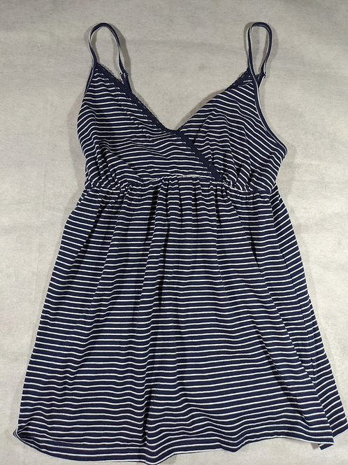 Old Navy, Striped Cross front Cami, XS