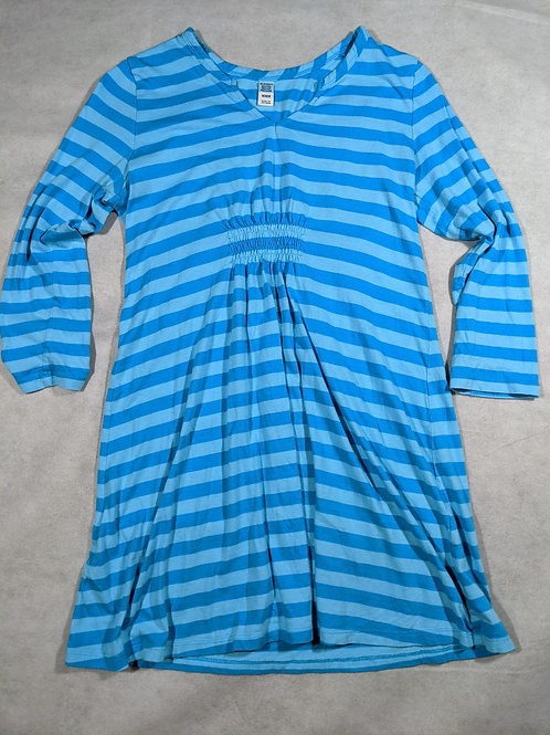 Old Navy, Striped Waist defined 3/4 Sleeve Tunic, M