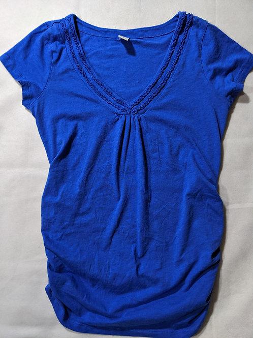Old Navy Ruffle V-neck T-shirt Small