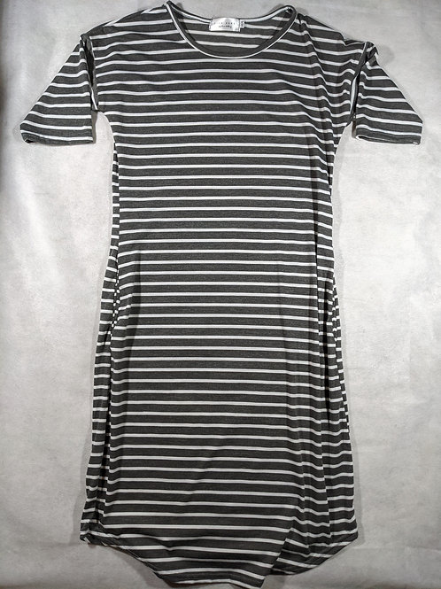 Sign Here, Striped t-shirt , XS
