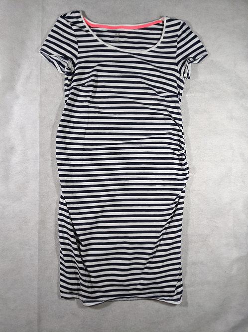 H&M Mama, Striped tshirt dress, S