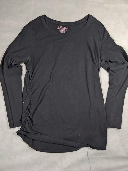 Great Expectations, Solid Scoop Neck Long Sleeve, XL