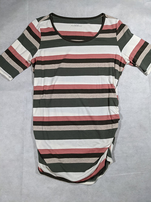 Motherhood, Striped Elbow Sleeve, M