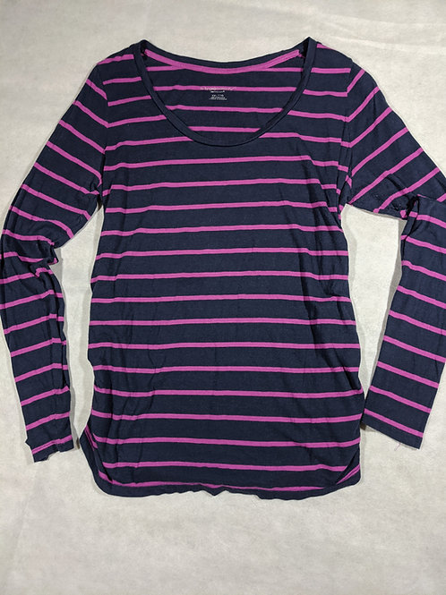 Liz Lange, Striped Long Sleeve, XXL