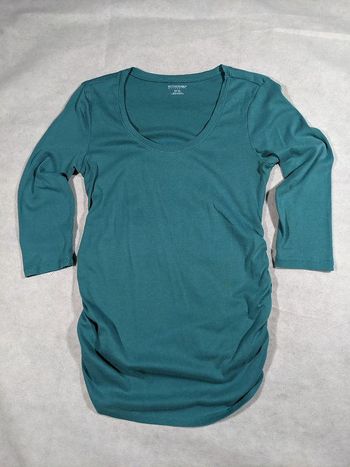 Motherhood, Scoop Neck 3/4 Sleeve Sleeve, M
