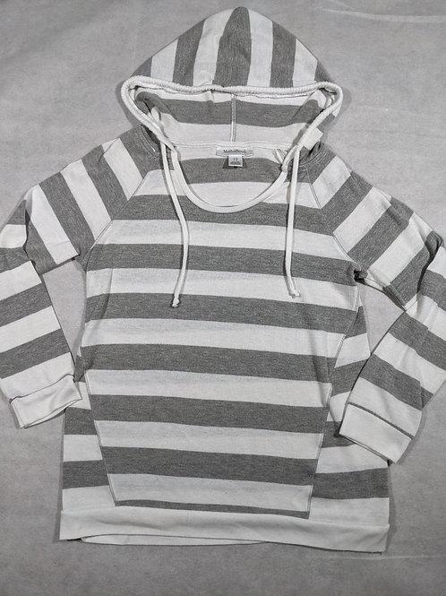 Motherhood, Striped Hooded, M