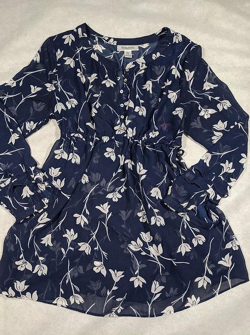 Motherhood, Floral tie waist Nursing Friendly, L